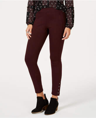 Style&Co. Style & Co Snap-Hem Ponte-Knit Leggings