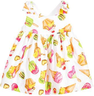 Mayoral Ice-Cream Print Cotton Dress