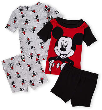 14efc7401cc7 American Marketing (Infant Boys) Two-Piece Short Sleeve Mickey Mouse Tee &  Shorts