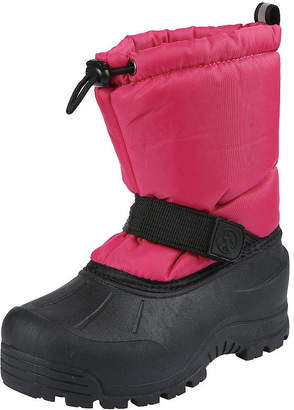 Northside Girls Toddler Frosty Snow Boots Fleece Lined Insulated Hook and Loop