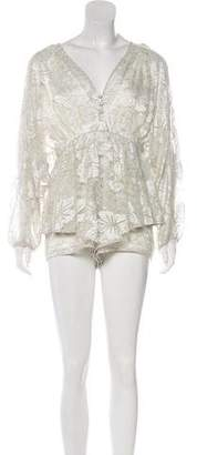 Alice McCall Lace Aquarius Playsuit w/ Tags