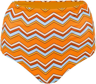 Camp Cove Katie High Waist Bikini Bottoms