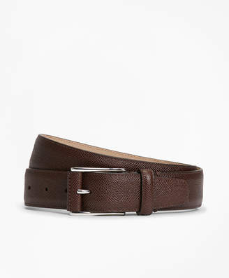 Brooks Brothers Textured Leather Belt