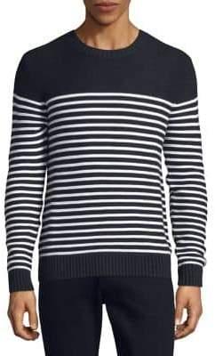 Black & Brown Black Brown Block Stripe Sweater