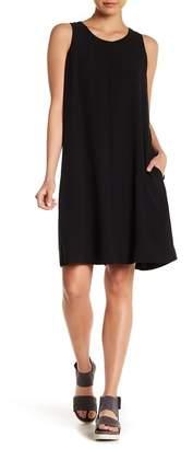 Eileen Fisher Silk A-Line Dress (Regular & Petite)