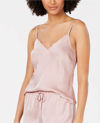 INC International Concepts I.n.c. Scalloped-Neck Camisole Pajama Top