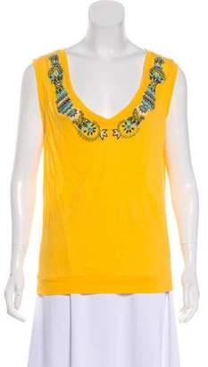 Etro Embellished Sleeveless Top