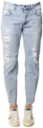 Dondup Brighton Destroyed Denim Jeans