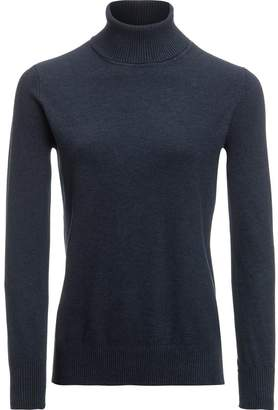 Metric Knits Classic Turtleneck Sweater - Women's