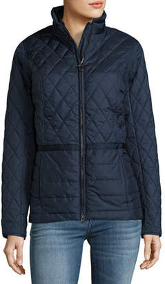 Barbour Charlotte Quilted Jacket $249 thestylecure.com