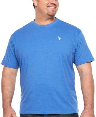 U.S. Polo Assn. USPA Short Sleeve Crew Neck T-Shirt-Big and Tall