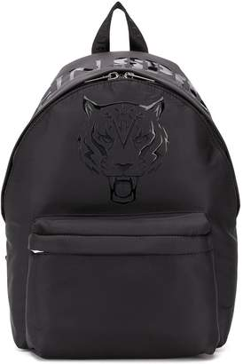 Plein Sport tiger print backpack