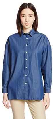 Finamore (フィナモーレ) - (フィナモレ) Finamore デニムビッグシャツ 019542 - GRACE -LISA 11 NAVY ネイビー 40