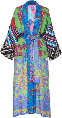 Rianna + Nina Exclusive One Of A Kind Printed Kimono