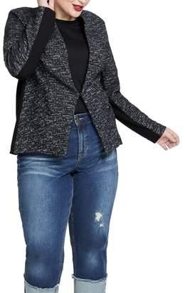 Rachel Roy Frankie Cotton Blend Jacket