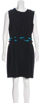 Lanvin Ruffled Knee-Length Dress