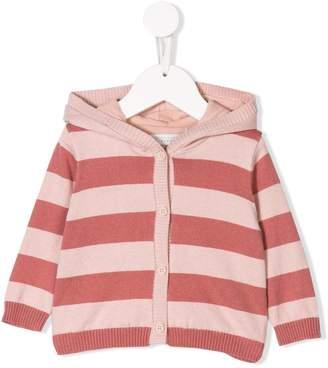 Stella McCartney hooded striped cardigan