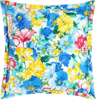 Ralph Lauren Home European Quilted Ashlyn Floral Sham