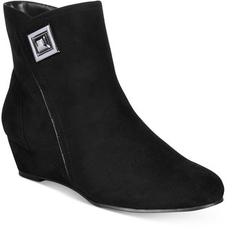 Impo Giovanna Wedge Booties $70 thestylecure.com