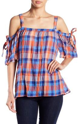 Sanctuary Dawn Bow Sleeve Blouse