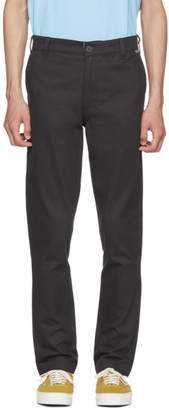 Dickies Construct Black Straight Slim Trousers