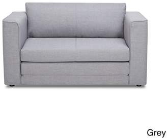 At Us Pride Furniture Ava Modern Reversible Fabric Loveseat And Sofa Bed