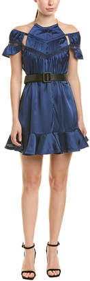 Self-Portrait Peplum Mini Dress