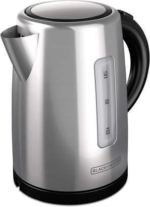 Black & Decker KE2000 Electric Kettle, 1.7 L Stainless Steel