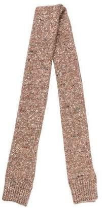 Stella McCartney Rib-Knit Scarf
