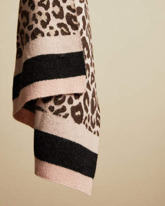 Ted Baker NIKITAA Exotic knitted scarf