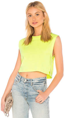Hanes x Karla x REVOLVE The Neon Sleeveless Crop Tank