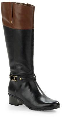 Bandolino Coloradee Wide Calf Boots $149 thestylecure.com