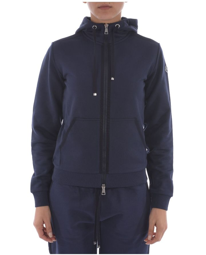 MonclerMoncler Zipped Hoodie