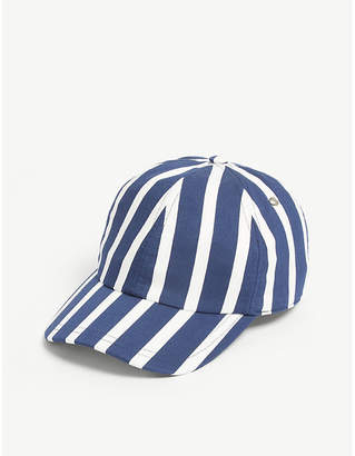 826f4c96 Mens Red And Blue Stripe Hat - ShopStyle