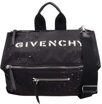 Givenchy Black Nylon Pandora-messenger Bag