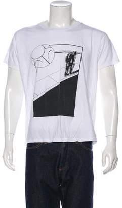 Saint Laurent Graphic Print T-Shirt