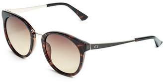 GUESS Women's Ivy Round Sunglasses