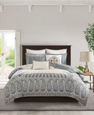 Echo Paisley Shawl King 3-Piece Reversible Cotton Comforter Set Bedding