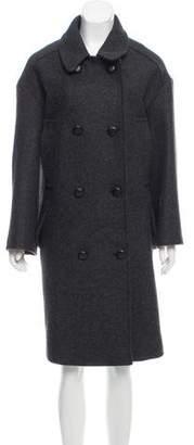 Etoile Isabel Marant Oversize Double-Breasted Coat