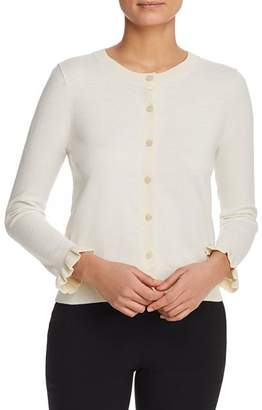 Kate Spade Ruffle-Trimmed Cardigan