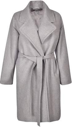 Rochas Tie-waist Midi Coat