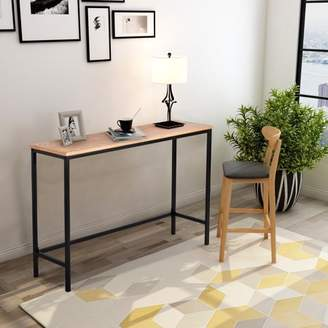 Harper & Bright Designs Harper&Bright Designs Contemporary Industrial Console Table for Entryway and Living Room