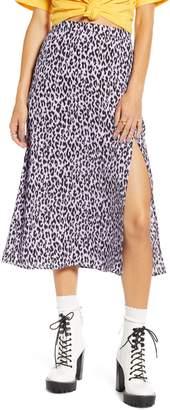 BP x Claudia Sulewski Front Slit Midi Skirt
