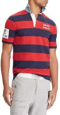 Polo Ralph Lauren Classic-Fit Striped Cotton Rugby Shirt