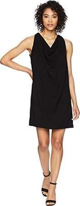 Michael Stars Women's Rylie Rayon Draped Halter Dress