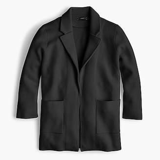 J.Crew New lightweight sweater-blazer
