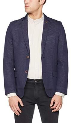 Tom Tailor Men's Fancy Structure Blazer Suit Jacket