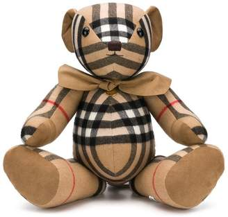 Burberry vintage check teddy bear