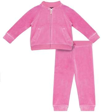 Juicy Couture Scottie Butterfly Velour Bomber Set for Baby