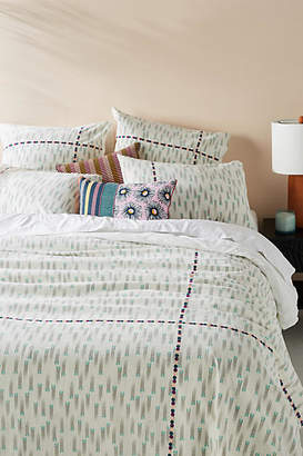 Anthropologie SUNO for Embroidered Catalan Duvet Cover